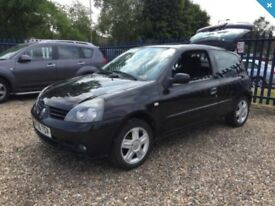 Delivery Available Renault Clio Campus Sport 16v 1.2 Petrol VGC Full MOT