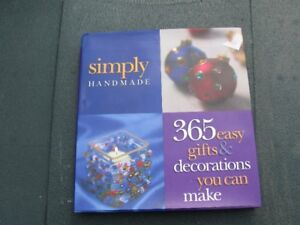 CRAFT BOOK - SIMPLY HANDMADE - REDUCED!!!!