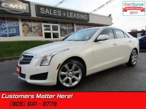 2014 Cadillac ATS 2.0 Turbo Luxury  REAR CAMERA, LEATHER, HEATED