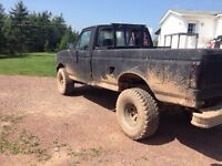 Lifted f150 trade for dirt bike