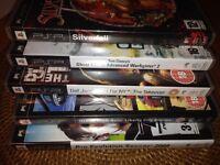6x PSP games