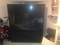 "HITACHI 60"" PROJECTION T.V."