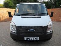 FORD TRANSIT 350 DOUBLE CAB ONE WAY TIPPER LWB 125 BHP 6 SEATS