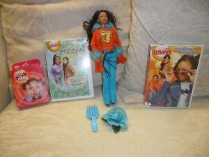 That's So Raven Barbie, DVDs & Card Game