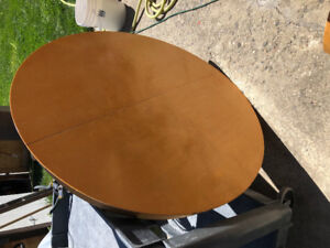 """42"""" Round Dining Table with Leaf- Kelowna"""