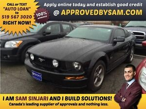"""V8 GT STANG - TEXT """"AUTO LOAN"""" TO 519 567 3020 GUARANTEED CREDIT"""