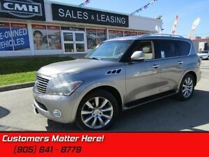 2011 Infiniti QX56   NAVIGATION, 2 DVD SCREENS, SUNROOF!