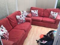 Two Super comfy large two / three seater sofas
