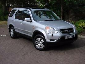 EXCELLENT 4x4!! 2003 HONDA Cr-V 2.0 i VTEC SE STATION WAGON 5dr, 1 YEARS MOT,