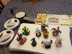 Wii rare skylanders games and balance board