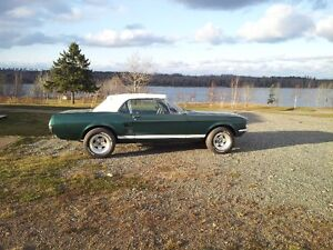 Wanted 390 S code engine and toploader for 67 Mustang