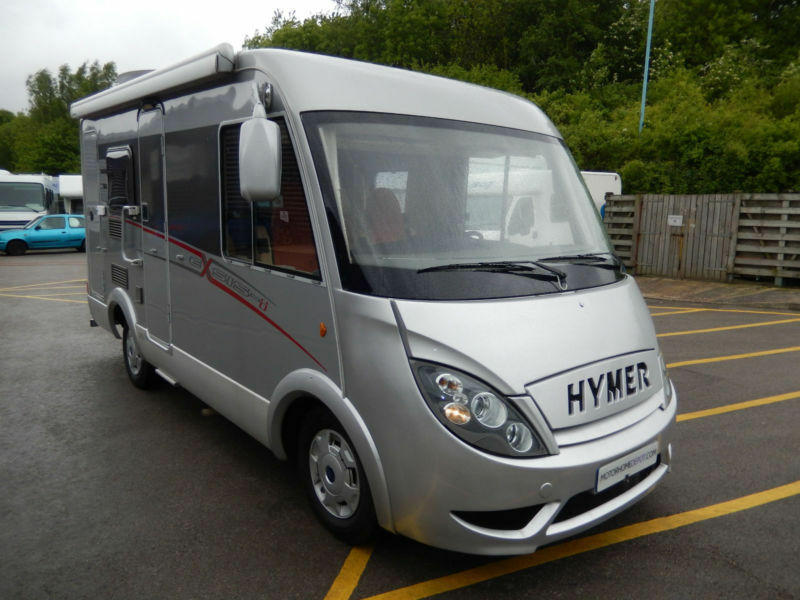 Hymer Exsis I482 2 Berth Left Hand Drive Motorhome For