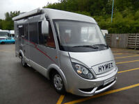 Hymer Exsis I482 2 Berth Left Hand Drive Motorhome For Sale