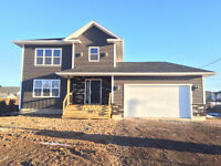 New Two Story Family Home w/ Garage in Grove Hamlet Moncton!