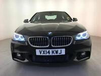 2014 BMW 520D M SPORT SAT NAV HEATED SEATS LEATHER INTERIOR BMW SERVICE HISTORY