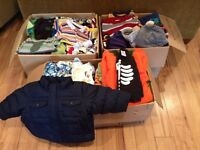 Lot of boy clothing (6-24 months)