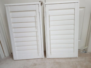 California Shutters - set of 3 in Excellent Condition