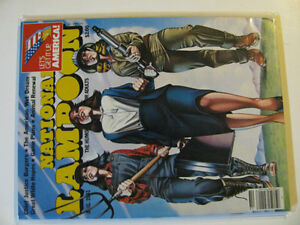3 Issues of National Lampoon's Magazine. Asking $10 for all 3.