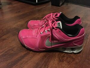Pink Nike shocks  MINT  size 11
