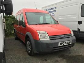 Ford Transit connect Tourneo van 1.8 90 ps 2007 07 126000 miles NO VAT TO PAY