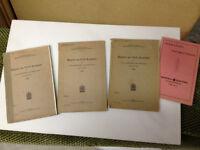 Civil Aviation and Civil Government  1926,1927,1928, 1929 & 1930