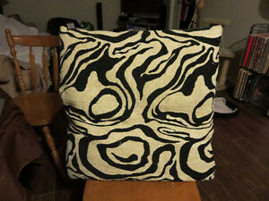Black & White Decorative Couch Pillows