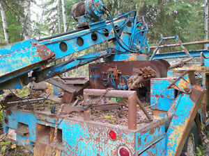 Auger/Pole Setting Truck