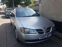 Nissan Almera ,2003, 99k mileage,5doors, full mot history, for quick sale