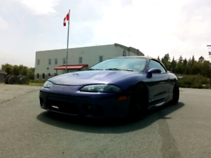1999 Mitsubishi Eclipse GS-T + Bigger turbo & gear