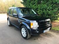 59 REG LAND ROVER DISCOVERY 3 XS AUTOMATIC 2.7 TDV6 TURBO DIESEL 4X4 7 SEATER