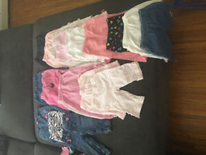 Baby girls clothes 6-12 months