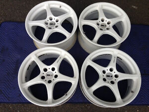 JDM Wheels- SSR Integral A2 18X9J +18 5H 114.3