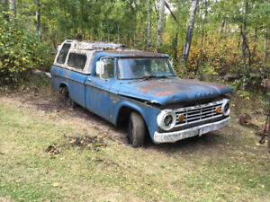 1966 dodge 1/2 ton + other vehicles