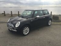 MINI ONE, 12 MONTHS MOT, 2004, EXCELLENT CONDITION.