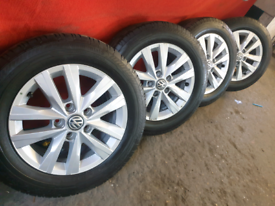 """16"""" Vw transporter t5 t6 alloy wheels"""