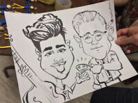 CARICATURE ARTIST AT YOUR PARTY OR FUNCTION
