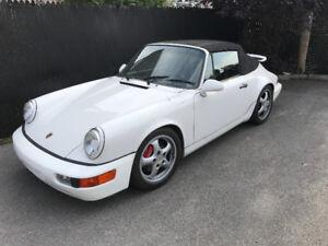 1990 Porsche 911 CARRERA Convertible