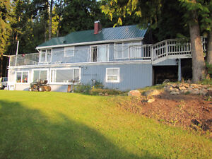 1360 TCH, NE Salmon Arm - Lake View With Hwy Exposure!