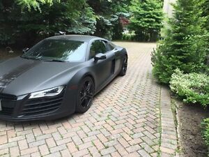Audi R8 Matt black (1 owner)