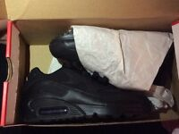 Nike boys trainers size 3 (sold )