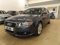 AUDI A4 T S LINE, Grey, Manual, Petrol, 2006