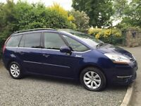 CITROEN C4 GRAND PICASSO 2008 AUTO 7 SEATER - MOT APRIL 2017
