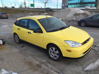 2002 Ford Focus ZX5 85,000km