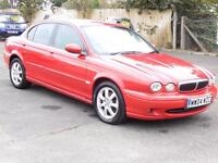 Jaguar X-TYPE 2.0D Classic, Red 2004, 6 Months AA Warranty, 1 Years Mot