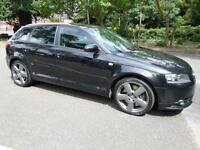 Audi A3 3.2 quattro S Line Sportback 5d 3189cc S Tronic