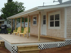PEI Cottages from $88/night per couple plus tax. Meadowbank