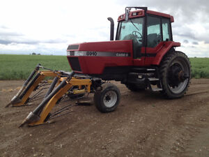 Hybrid canola crop divider, tractor and mower package.
