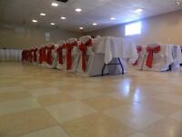 Chair covers/table cloths