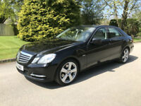 2011 MERCEDES-BENZ E200 BLUE-CY SE CDI AUTOMATIC DIESEL BLACK