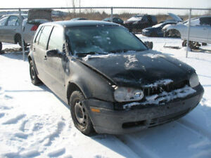 LAST CHANCE PARTS 2002 VOLKSWAGEN GOLF @ PICNSAVE WOODSTOCK